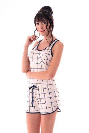 pijama feminino estampado regata com bolsinho ohzen 4