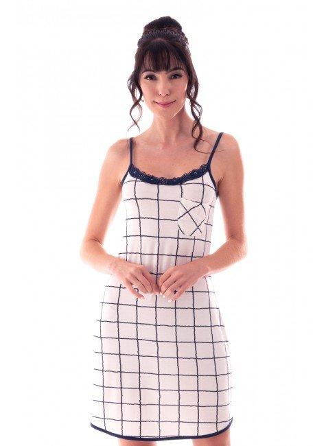 camisola feminina estampada alca com bolso e renda ohzen 4